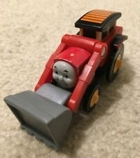 Jack Digger Excavator Red Toy Vehicle Figure Thomas Friends Wooden Railway Train