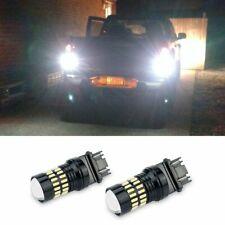 2x Led Back Up Reverse Tail Marker Signal Light Bulb 3157 3156 White For Ford