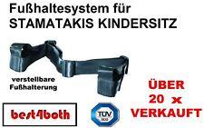 Fußhaltesystem für Stamatakis KINDERSITZ ROLLER MOTORRAD ATV QUAD ERSATZ NEU OVP