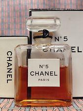 Vintage 1970s Chanel No 5 UNOPENED 1/2 oz 14 ml Extrait Pure Parfum OLD FORMULA