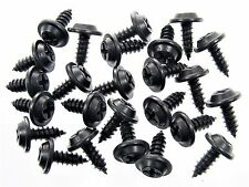 "Dodge Truck Black #10 x 1/2"" Phillips Flat Top Trim Screws- Qty.25- #212"