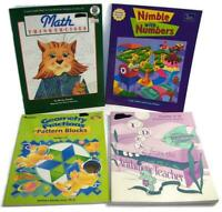 Parent/Teacher Home/School Student Workbooks Numbers Fractions Middle Grades 3-8