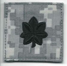 Acu O-5 Lt Col Lieutenant Colonel Rank Patch Velcro® Brand Fastener Compatible