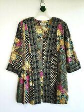 Vintage Tracy Richards Womens Petites Open Long Blazer Cardigan Duster Top ~ Pxl