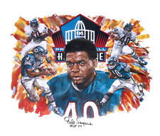 Autographed GALE SAYERS Lithograph Chicago Bears Artist Proof