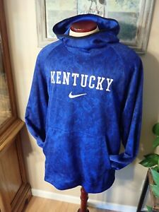 Nike UK University of Kentucky High Neck Dri-Fit Hoodie Sweatshirt Men's NWOT