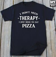 Pizza T-shirt Funny Pizza Lover Eat Pizza Gym Humor Funny Christmas Birthday Tee