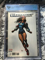 Ultimates 2 #1 America Chavez variant CBCS 9.4 NM Marvel Comics 2017