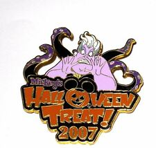 RARE Retired Disney Pin✿Villain Ursula Mickey's Halloween Treat MNSSHP Pumpkin