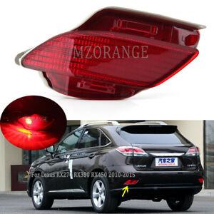 Left Rear Bumper Light Lamp Fog For Lexus RX270 RX350 RX450H 2010-2013 2014 2015