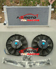 aluminio Radiador FAN para Opel Vauxhall Nova GTE GSi 2.0 16v Turbo 1.6L Corsa A