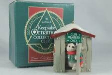 Hallmark 'Our Clubhouse' Dated 1988 Collector Club Ornament-New In Box