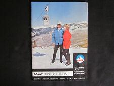 1966 Bolder Colorado GERRY Camping and Climbing Equipment ORIGINAL Catalog NM