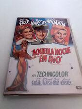 "DVD ""AQUELLA NOCHE EN RIO"" IRVING CUMMINGS ALICE FAYE CARMEN MIRANDA DON AMECHE"