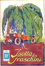 PUBBLICITA' 1926 ISOTTA FRASCHINI AUTO CARS ACHILLE MAUZAN SCIMMIE PALMA DESERTO