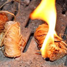 5kg Grillanzünder Holzanzünder Holzwolle Anzünder 10 Beutel je 40 Stk.