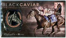 AUSTRALIA - 2013 'BLACK CAVIAR' Commemorative PNC with Red Foil Cancel [A9841]