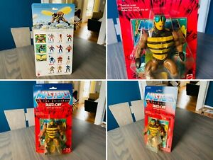 🔥 Masters Of The Universe BUZZ-OFF Figure SEALED HE-MAN MOTU Commemorative 🔥