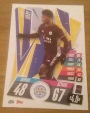 Match Attax 20//21 conjunto completo de tarjeta de base Leicester City