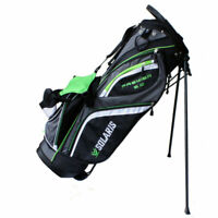 New DTG Solaris Premier 2.0 Stand Bag ULTRALIGHT WEIGHT Grey/Green/White