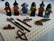 Minifiguras Lego Dragon Caballeros Vintage Castillo Y Accesorios