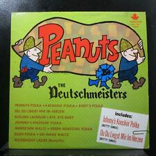The Deutchmeisters - Peanuts LP VG+ MSLP 1001 Stereo USA Polka Vinyl Record