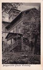 Berggaststätte Grosser Winterberg , DDR  ,Ansichtskarte