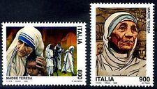 1998 ITALIA -  Madre Teresa emissione congiunta  Nuovi **