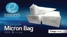 Eshopps 7 Inch 300 Micron Bag Package 3 Pack For All Sumps 2x3 bags bulk
