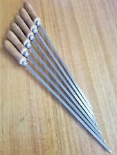 BBQ SKEWERS STAINLESS STEEL- BEST QUALITY BRAND NEW