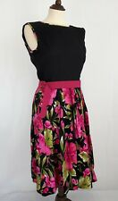 Elise Design Hibiscus Bow Dress (New) Size 10