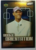 2003 03-04 Upper Deck Victory Chris Bosh RC Rookie Orientation #104, SP Foil