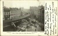 Brooklyn NY From City Hall c1905 Postcard