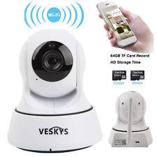 Wireless 720P HD Pan/Tilt Home Network Baby Monitor Camera WiFi IP Webcam IR CUT