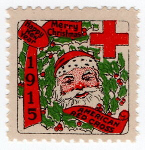 (I.B) US Cinderella : Red Cross Christmas Seal (1915)