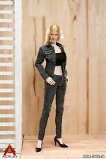 ACPLAY 1:6 Cowgirl Female Clothing Set in Black for Phicen, Hot toys Figures 12B