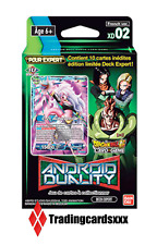 ♦Dragon Ball Super Card Game♦ Deck Expert : Android Duality - VF/XD02
