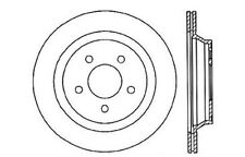 Disc Brake Rotor-High Performance Drilled and Slotted fits 94-01 Ford Mustang