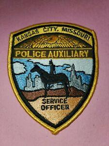 Kansas City Missouri Police Auxiliary Patch