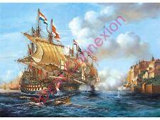 Castorland - Puzzle 2000 Pièces - Bataille navale de po