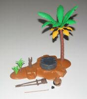 Playmobil Oasis du Desert des Egyptiens avec Palmier et Puis 20 x 10 cm NEW