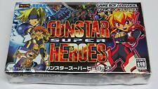 Gunstar Super Heroes Nintendo Game Boy Advance Japan Future * ORIGINAL GAME VGC