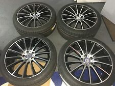 19 NEW AMG OEM MERCEDES BENZ AMG WHEELS S550 CL550 CL CL63 CL65 CLK E AUTHENTIC