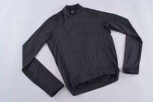 Rapha Men's Long Sleeve Core Jersey Men's Small Black Full Zip Road Bike Cycling
