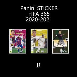 Panini La Liga Santander Colecciones ESTE 2020-2021 Football Soccer Sticker B