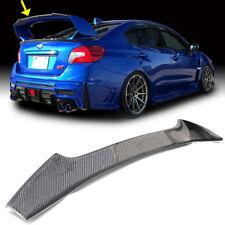Carbon For Subaru WRX 4th STI Gurney Flap STI Trunk Spoiler Wing 2019