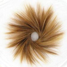 scrunchie hair brown blond copper wick clear ref: 21 6bt27b peruk