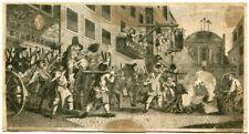 Grabado realizado por Thomas Cook en 1822. Pegado a cartulina. Medidas: 15,5x12