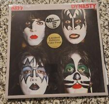 Dynasty - US Exclusive Green 40th Anniversary Vinyl LP - Kiss