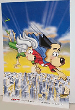 THERE'S NO NEED TO FEAR ... UNDERDOG ~ RARE JOE HARRIS POSTER WITH SWEET POLLY